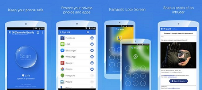 cm security applock and antivirus