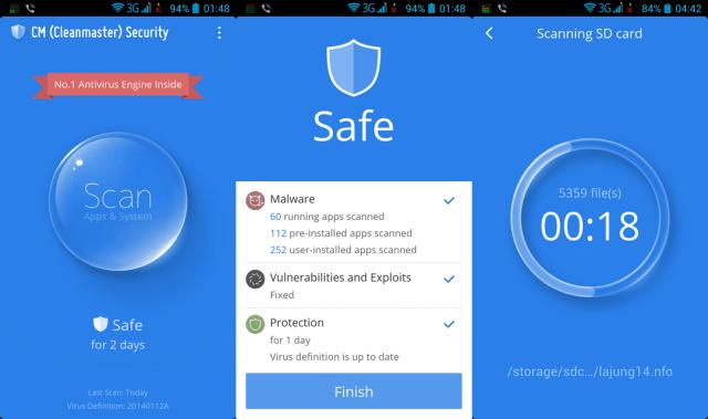 Antivirus CM Security
