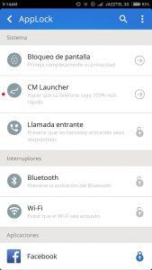 aplicación cm security